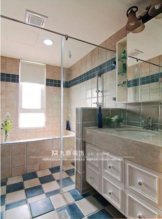 5-10万120平米四室三厅田园风格卫生间装修效果图
