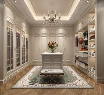 豪华型140平米别墅欧式风格衣帽间橱柜图片大全