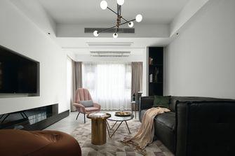 110平米三室一厅英伦风格客厅装修图片大全