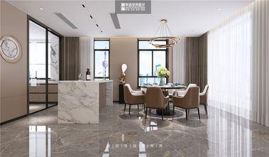 140平米四室三厅美式风格餐厅效果图