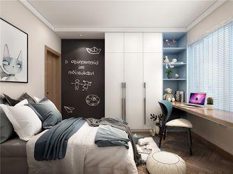 110平米三室两厅北欧风格卧室图片大全