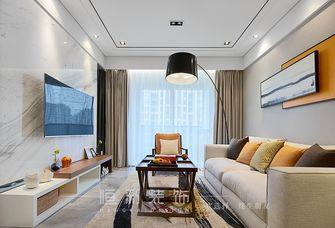 富裕型80平米三室两厅宜家风格客厅欣赏图