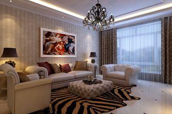 80平米一居室欧式风格客厅设计图