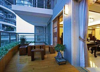 100平米三室两厅新古典风格阳台装修效果图