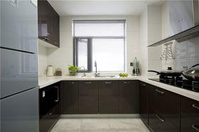 100平米三室兩廳現代簡約風格廚房圖片