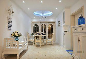 90平米一室一厅田园风格餐厅装修效果图