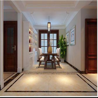 130平米三室三厅美式风格餐厅欣赏图
