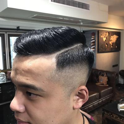 复古剪发作品图