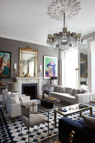 70平米公寓美式风格客厅装修案例