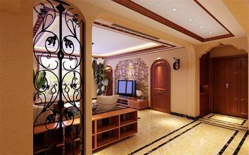 富裕型140平米四室两厅东南亚风格玄关装修图片大全