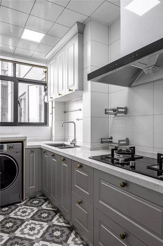 120平米三室两厅美式风格厨房装修案例