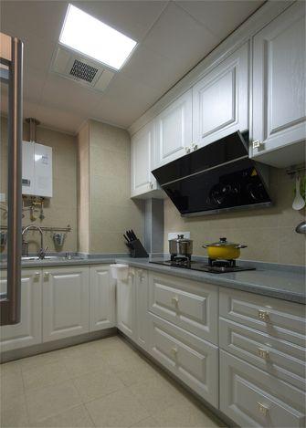 90平米三田园风格厨房欣赏图