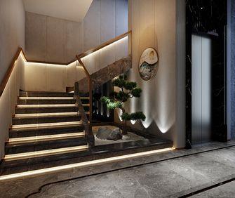 140平米别墅中式风格楼梯间图