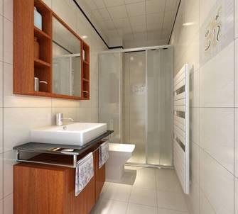 现代简约风格浴室装修效果图
