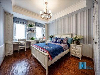 豪华型140平米别墅东南亚风格儿童房欣赏图