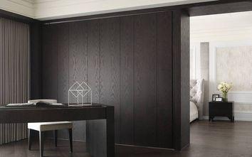 豪华型140平米三室四厅欧式风格书房欣赏图