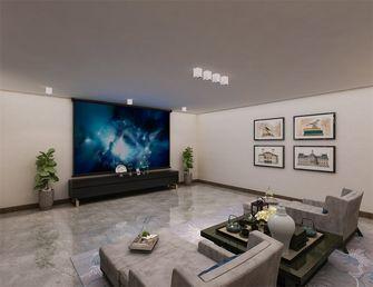 20万以上140平米四美式风格影音室图片