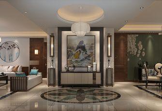 140平米三室两厅中式风格玄关吊顶装修图片大全