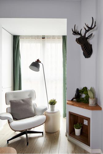 80平米三室两厅混搭风格客厅图片大全