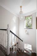 140平米复式其他风格楼梯间设计图