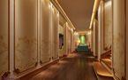 豪华型140平米别墅法式风格走廊图片