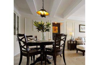 140平米三室五厅美式风格餐厅效果图