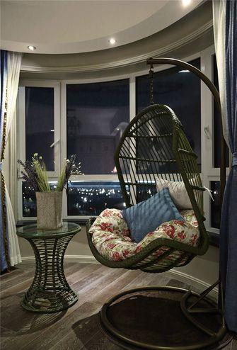 140平米三室三厅美式风格阳台装修效果图
