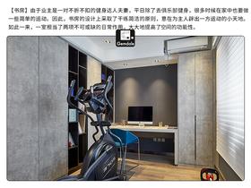 140平米三室兩廳其他風格書房圖片大全