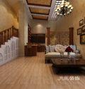 20万以上140平米别墅田园风格储藏室图