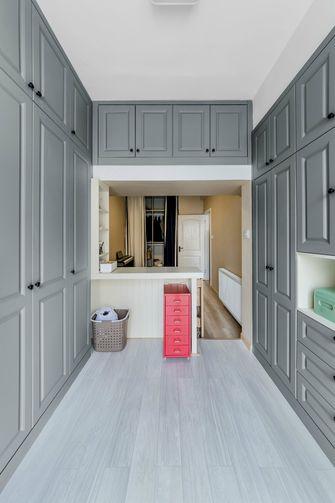 130平米三室一厅美式风格衣帽间效果图