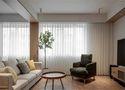 30平米以下超小户型日式风格客厅效果图