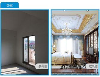 140平米公寓法式风格客厅装修案例