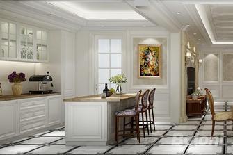 140平米三室两厅欧式风格厨房图片大全