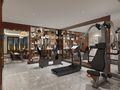 140平米复式欧式风格健身室装修案例
