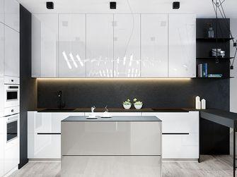 80平米北欧风格厨房橱柜图