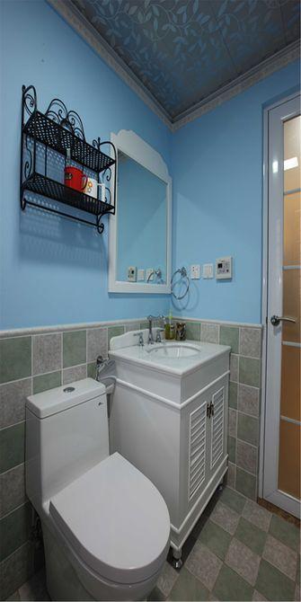 富裕型140平米四室一厅田园风格卫生间装修图片大全