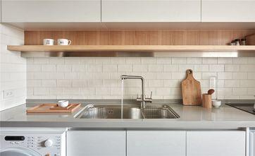 100平米三室三厅田园风格厨房图片大全