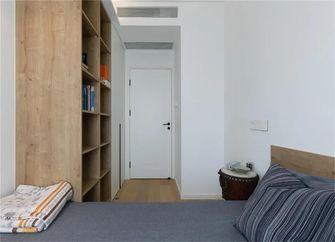 90平米三室一厅现代简约风格卧室装修图片大全