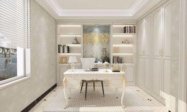 100平米三室一厅田园风格书房装修效果图