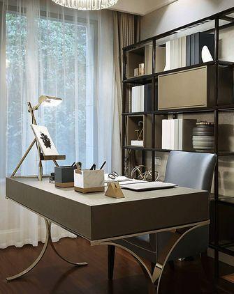 110平米三室一厅新古典风格书房欣赏图
