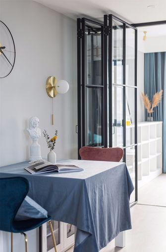 50平米一居室宜家风格餐厅图片