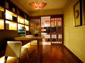 120平米三室两厅东南亚风格书房欣赏图
