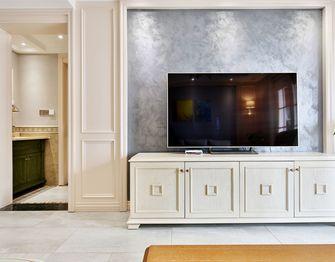 140平米三室三厅混搭风格客厅图片
