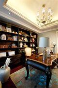 140平米四室一厅欧式风格书房图