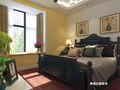 120平米三室两厅地中海风格卧室装修图片大全