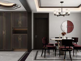140平米三室三厅中式风格餐厅装修图片大全