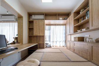 110平米三室两厅日式风格书房效果图