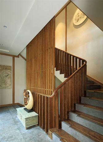 20万以上140平米别墅日式风格楼梯装修效果图