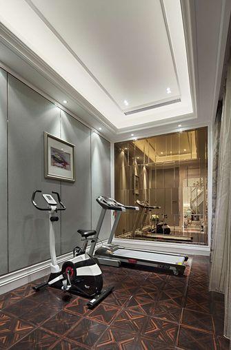 120平米三室两厅法式风格健身室装修案例