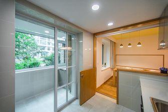 140平米三室一厅日式风格阳台欣赏图